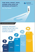 Hayes INFOGRAPHIC The Who, What, Why, Where and How of Revenue Integrity TN